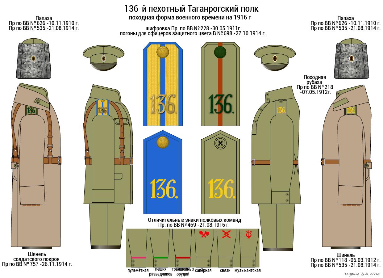 136-й пехотный Таганрогский полк